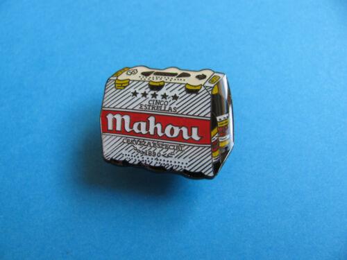 Mahou Beer Pin Badge VGC Unused.