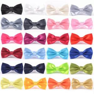 Classic-35-Color-Fashion-Men-039-s-Adjustable-Tuxedo-Bowtie-Wedding-Bow-Tie-Necktie