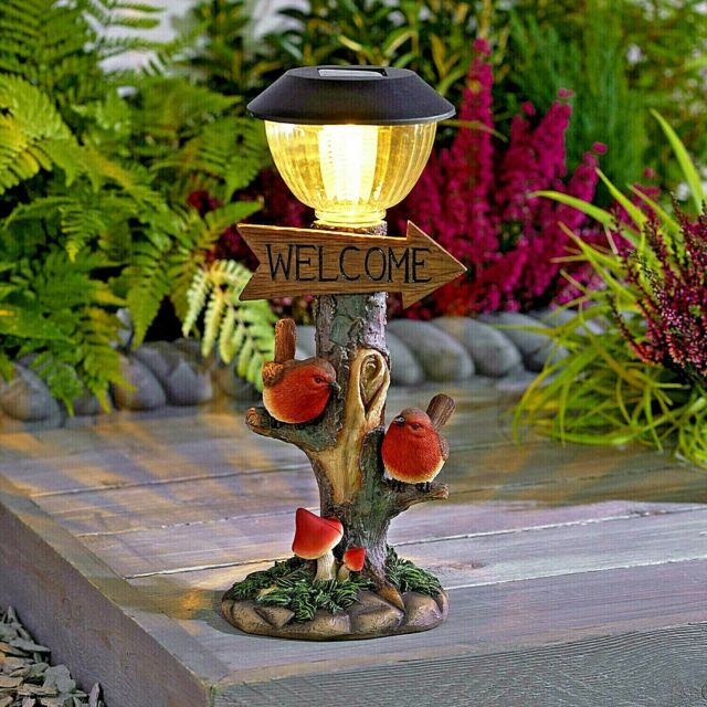 Small Solar Post Light For