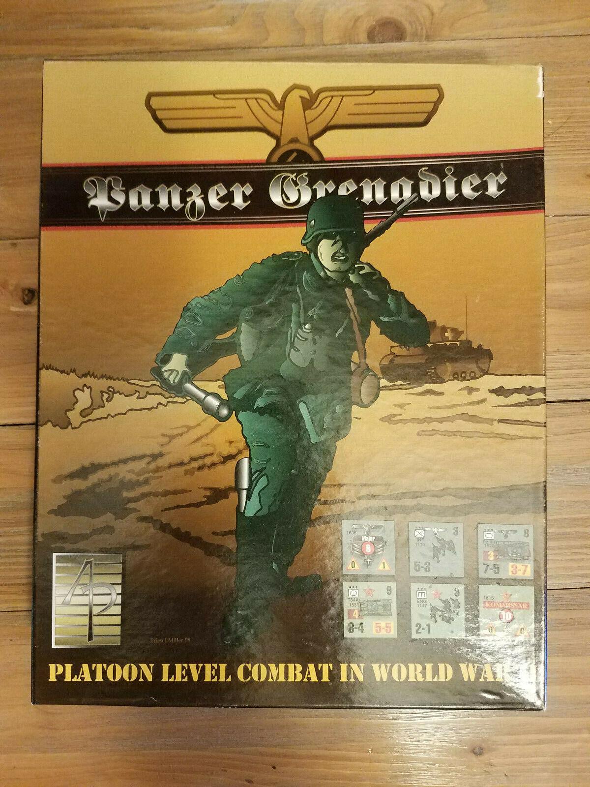 Panzer Grenadier Avalanche Press 1999 Unpunched