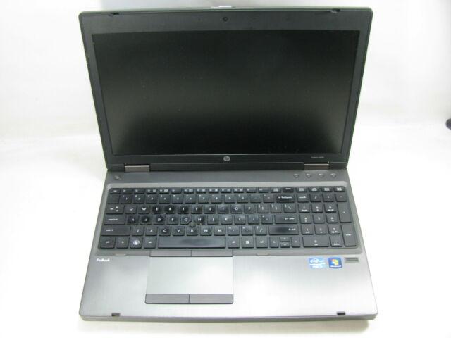 "HP ProBook 6560b 15.6"" Laptop 2.8 GHz i7-2640M 4GB RAM (Grade C)"