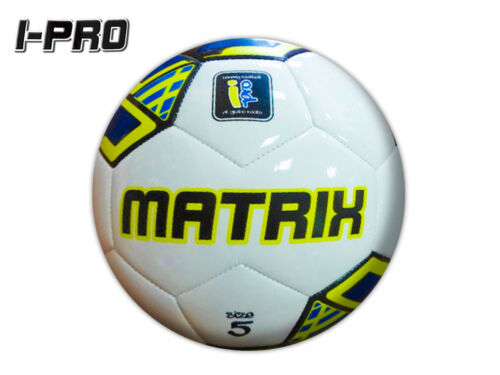 W//B//Y *CLEARANCE NEW* I-PRO MATRIX SOFT TOUCH FOOTBALL SIZE 5