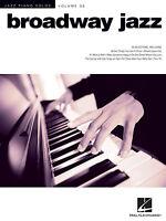 Broadway Jazz Sheet Music Jazz Piano Solos Series Volume 36 Piano Solo 000144365