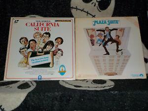 California-Suite-amp-Plaza-Suite-Laserdisc-Ld-Neil-Simon-Ordini