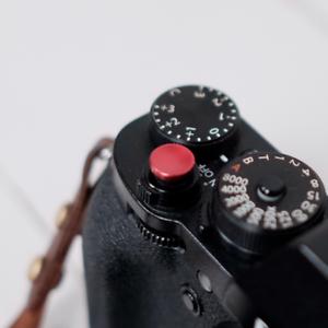 Botón disparador ergonómico Metal Gris Para Leica M-Monochrom
