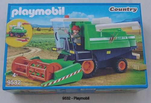 Playmobil 9532-Moissonneuses-batteuses-édition limitée-Exclusivité-Neuf