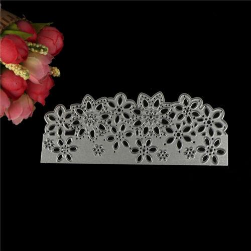 Blume Frame Metall Stanzformen Scrapbooking Album Papier Karte Schablone H5FBB