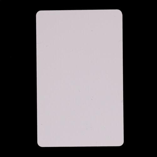 10pcs PVC Blank NFC Card Tag 1k S50 IC 13.56MHz Read Writ BRPF