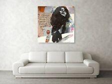 Uschi Obermaier Kommune 1 XXL 102x102  Pop Art/Bild/Alu Dibond/Street Art/Modern