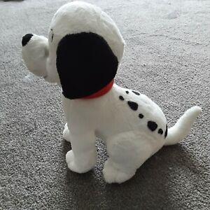 "Disney Store 101 Dalmatians Lucky puppy dog soft toy plush cuddly Dalmation 13"""