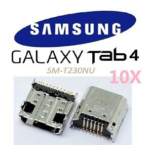 10X OEM USB Charging Port Dock Connector Jack Samsung Galaxy Tab 4 7.0 SM-T230NU