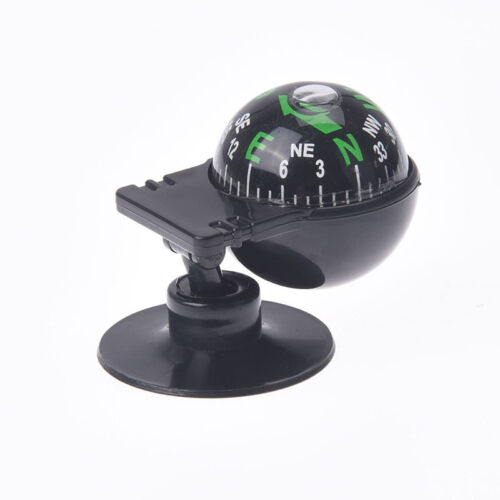 Pocket Ball Dashboard Mount Navigation Compass Car Boat Truck Suction Black XDUK