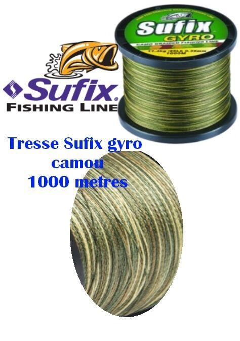 TRESSE SUFIX CAMOU 1000M autoPE  autoNASSIER  0.260.300.35  TRANSPORT GRATUIT