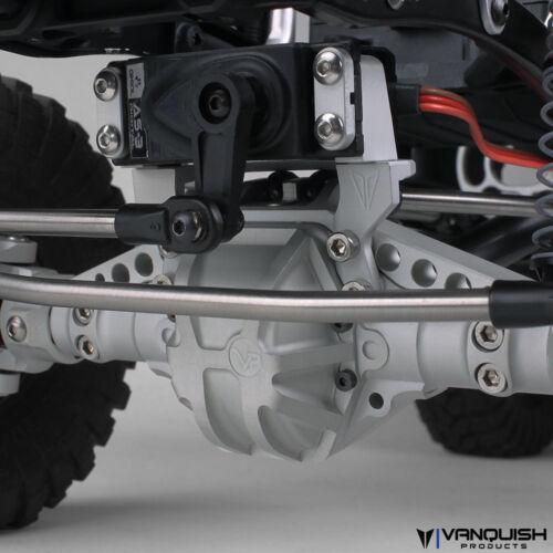 Vanquish VPS04455 Axle Servo Mount Grey Axial AX10
