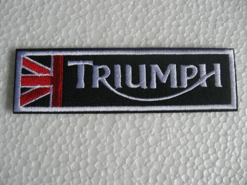 Écusson patch TRIUMPH Racing Motorsport Tuning Motard-Mc Moto Sport Moto