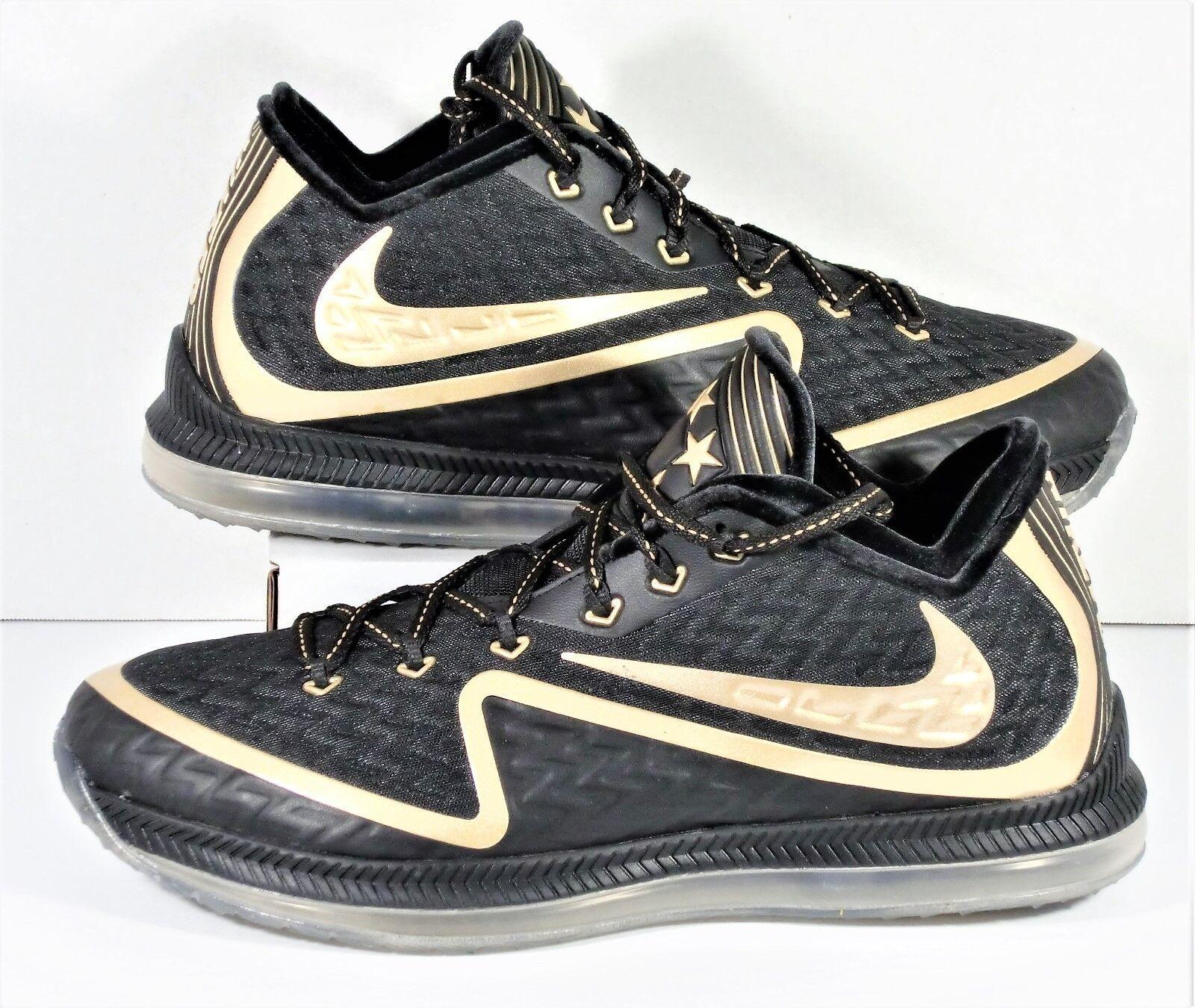 Nike Field General 2 Premium Training NFL Super Bowl 50 Black & Gold Shoe Sz 10