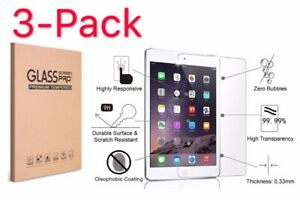 3-Pack-9H-Clear-Tempered-Glass-Screen-Protector-For-Apple-iPad-2-3-4