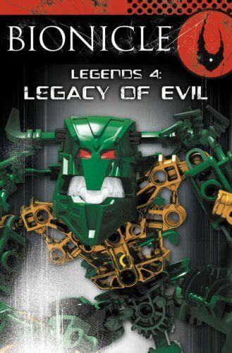 1 of 1 - BIONICLE Legends (4) - Legacy of Evil,