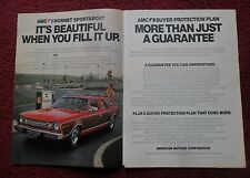 1974 Print Ad AMC Hornet Sportabout Wagon Car Automobile ~ Beautiful to FIll Up