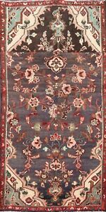 Vintage Floral Traditional Area Rug Wool Hand-knotted Oriental Carpet 3x5 Foyer