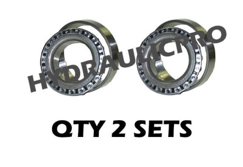 Qty M86649 /& M86610 Tapered Roller Bearing /& Race 2 sets REPLACEMENT New 2