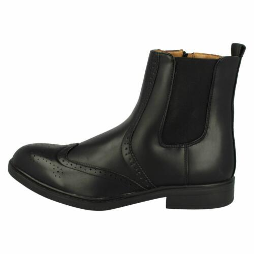 Sale Mens Maverick//Thomas Blunt black synthetic ankle boot A3R050