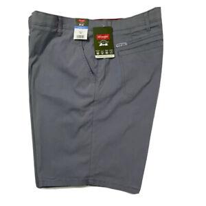Para Hombre Wrangler Al Aire Libre Calce Recto Confort Flex Pantalones Cortos De Cintura Luz Gris Nuevo Ebay