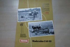 Fahr Wendereschen Aus Dem Ausland Importiert 197720 Prospekt 02/1955