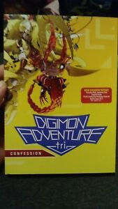 Digimon-Adventure-Tri-3-Confession-DVD-Disc-2017-2-Disc-Set-New