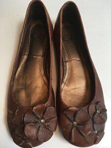 Comfy Leather Flats Shoes Cut