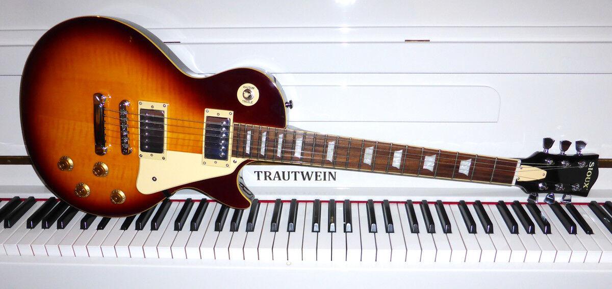 SIOUX CP-1000 VS Lazybird DeLuxe E-Gitarre - made in Korea