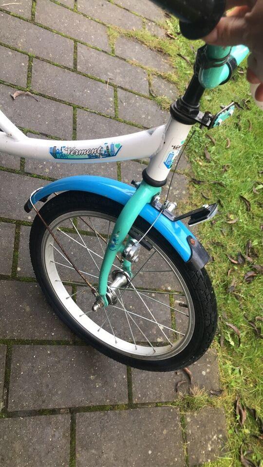 Unisex børnecykel, classic cykel, 18 tommer hjul