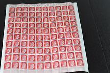 Deutsches Reich, 1942 Michelnr: 827 **, kompletter Bogen **, Katalogwert € 85