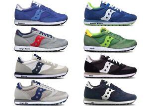 Scarpe-da-uomo-Saucony-Jazz-casual-sportive-basse-sneakers-ragazzo-estive