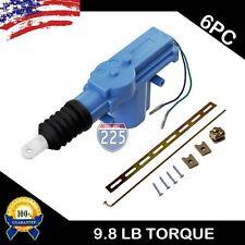 6x Universal Door Lock Actuator Motor w/Keyless Entry 2 Wire 12V Car Truck Alarm