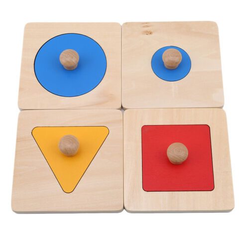 Childrens Wooden Shape Sorter Number Column Toy Jigsaw Blocks Game Gifts SK