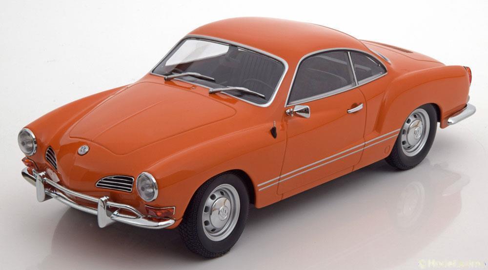 VW KARMANN GHIA COUPE 1970 arancia MINICHAMPS 155054020 1 18 VOLKSWAGEN LHD