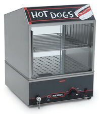 NEMCO HOT DOG STEAMER ELECTRIC HOLDS 150 DOGS & 30 BUNS NSF - 8300