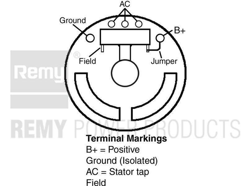 Alternator Diesel Remy 20007 Reman