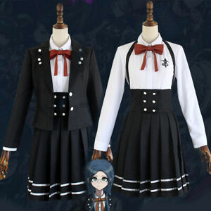 Details about Danganronpa V3: Killing Harmony Shirogane Tsumugi Black  Uniform Cosplay Costume