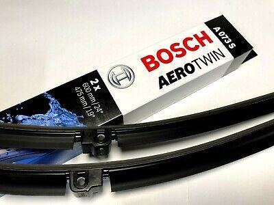 Bosch Aerotwin Flat Blade 600//475 A073S Front Windscreen Wiper Blades Pair Set