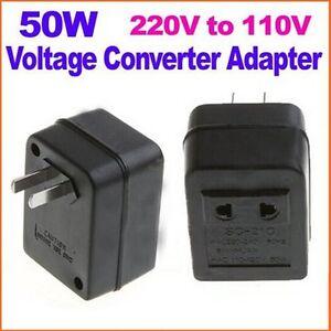 50w us ac power plug converter adapter ac 220v/240v to ... 220v adapter plug diagram