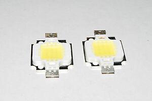 2PCS 10W Cool White High Power 800-900LM LED light Lamp SMD Chip DC 9-12V A287