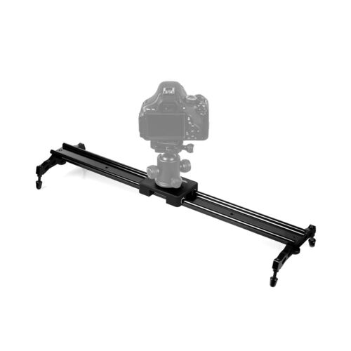 "Commlite 60cm 24/""DSLR Camera Slider Dolly Video Stabilizer System Sliding Track"