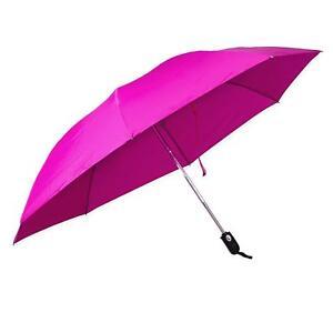 ff5817e8c956 Details about Revers-a-Brella Portable No-Drip Inverted Auto Open Close  Compact Umbrella, Pink
