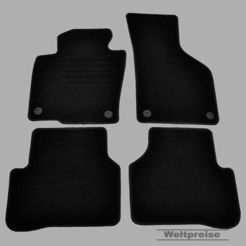 Weltpreise Velours Auto Fußmatten für VW Passat 3C B6 B7 ab Bj.03//2005-2014 ru