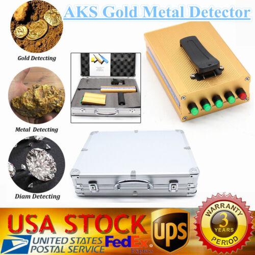 AKS detective metal detector gold silver copper precious stones Long Range NEW