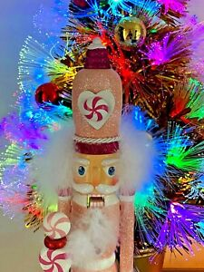 Pink Christmas Decorations Candy Nutcracker