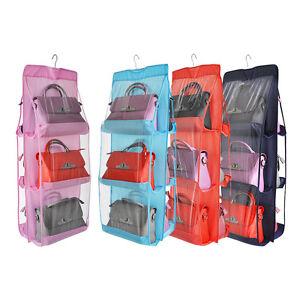 Image Is Loading Uk Hanger Storage Bag Organizer Wardrobe Rack For