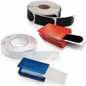 Bowling-Ball-Bowler-Tapes-in-schwarz-glatt-weiss-rauh-von-10-500-Stueck
